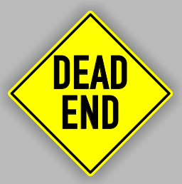 Pre-made Dead End Sign