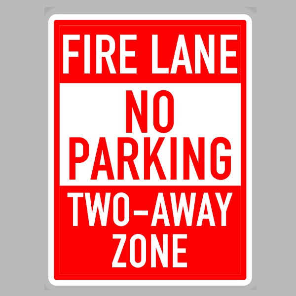 Fire Lane No Parking